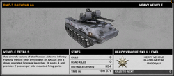 BFBC2 BMD-3 Bakhcha AA Stats