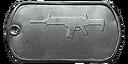 BF4 AR-160 Master Dog Tag