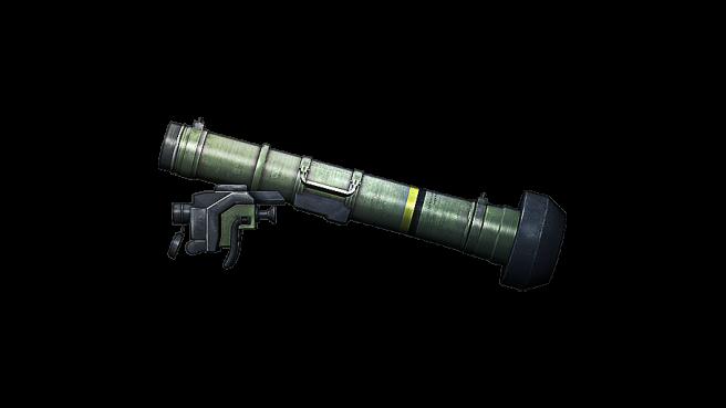 Javelin missile drawing