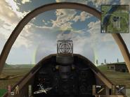 Spitfire BF1942 cockpit