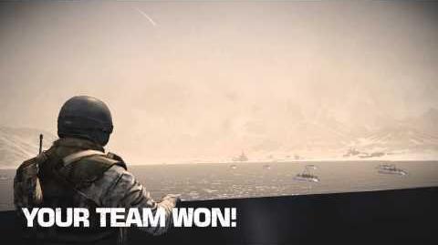 Atacama Desert - Russian Victory Scene