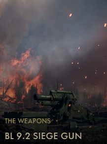 BL 9.2 Siege Gun Codex Entry