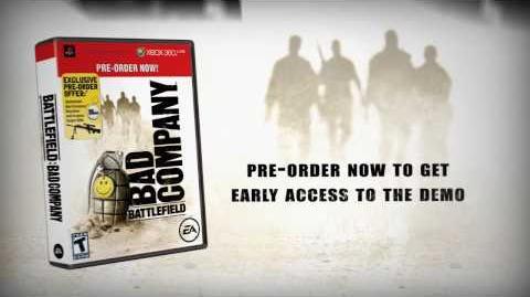 Battlefield Bad Company - Demo Trailer