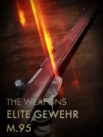 Elite Gewehr M.95 Codex Entry