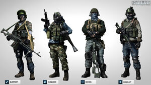 BF3 mp character profiles specact rus