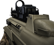 BFBC2 F2000 Red Dot Sight