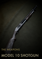 Model 10 Shotgun Codex Entry