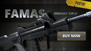 Battlefield Play4Free FAMAS Poster