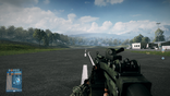 BF3 M249 Red Dot Sight