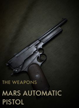 Mars Automatic Pistol Codex Entry
