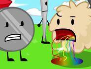 Rainbow drool