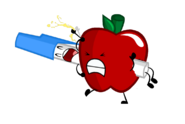 Apple and Pen