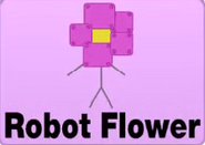 Robot flower mini