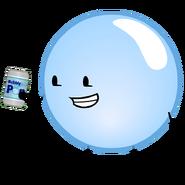 Bubble holding Soda