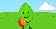 Leafy throw