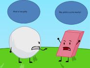 Snowball vs. Eraser