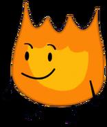 Firey Floating Transparent