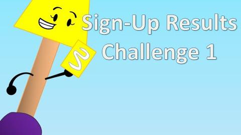 BFDI Camp S3 - Sign-Up Results Challenge 1