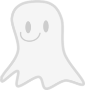 Ghosty pose