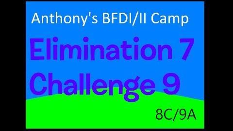BFDI II Camp 8C 9A Mystery Cake