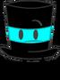 Cyan Top Hat Pose