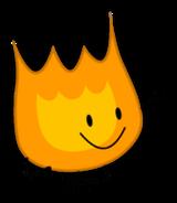 Giant Firey Pose