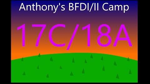 BFDI II Camp 17C 18A Black Elimination, White Challenge