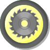 The Spinning Saw Blades