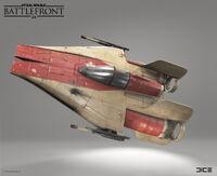 A-Wing model