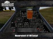 Messerschmitt Bf 109 cockpit
