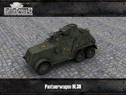 Pantserwagen M36 render