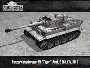 Tiger I early render 4