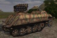 Panzerwerfer42 rear