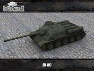SU-100 render