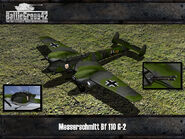 Messerschmitt Bf 110 render old 2