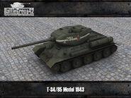 T-34-85 render 1