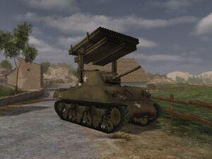 M4 A3 Sherman Calliope new