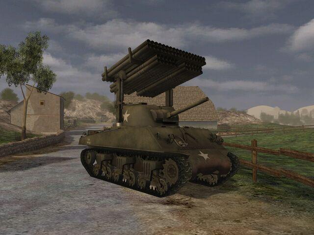 File:M4 A3 Sherman Calliope new.jpg