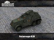 Pantserwagen M38 render