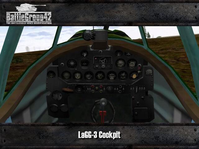 File:Lavochkin-Gorbunov-Gudkov LaGG-3 cockpit.jpg