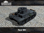 Panzer 38(t) render old
