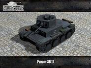 Panzer 38(t) render old