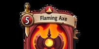 Flaming Axe