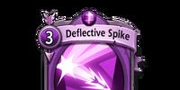 Deflective Spike
