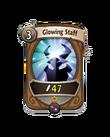 Magic 0 CARD HERO GLOWING STAFF MIN