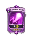 Magic 1 CARD HERO SHADOW MISSILE MIN