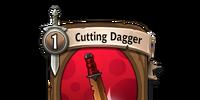 Cutting Dagger