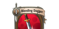 Bleeding Dagger