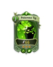 Ranged 2 CARD HERO POISONOUS SPIKE