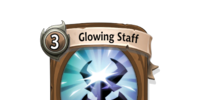 Glowing Staff